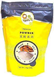 Qbubble 3 in 1 Bubble Tea Powder, Almond, 2.2 Pound
