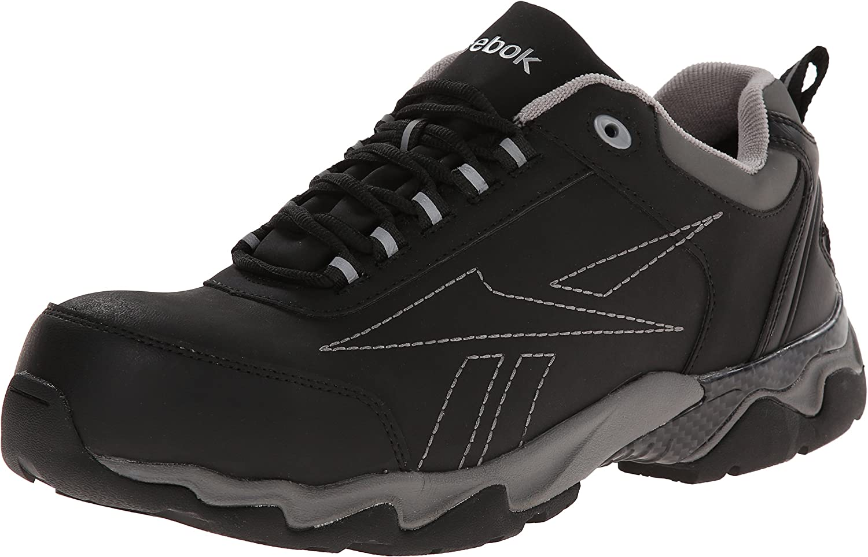 Las Vegas Mall Reebok Work Men's Beamer RB1062 Clearance SALE! Limited time! Shoe US Black 7.5 W