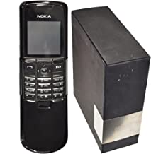NOKIA 8800 64MB BLACK STAINLESS STEEL FACTORY UNLOCKED 2G GSM LUXURY CLASSIC COLLECTOR'S ITEM CELL PHONE