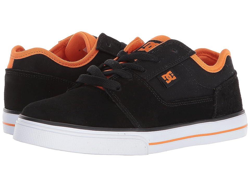 DC Kids Tonik (Little Kid/Big Kid) (Black/Orange 2) Boys Shoes