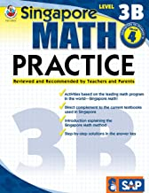 Singapore Math – Level 3B Math Practice Workbook for 4th Grade, Paperback, Ages 9–10 with Answer Key