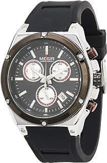 ساعة اليد جينتس للرجال من ميجر - MN2073GS-BK-1A