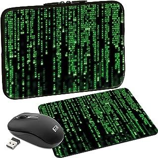 PEDEA Protective Sleeve  Notebook Case 10 1-Inch 13 3  inch 15 6  inch 17 3  inch matrix 15 6 Zoll Maus und Mauspad