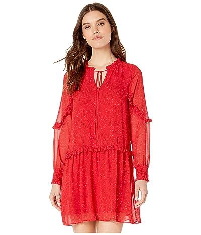 kensie Xo Dress KS2K8340 (Crimson Combo) Women