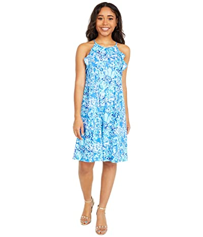 Lilly Pulitzer Billie Dress (Saltwater Blue Suns Out Funs Out) Women