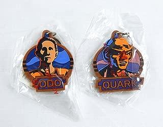 Vintage 1994 Star Trek Deep Space Nine Odo and Quark Keychain Set