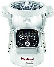 Moulinex Cuisine Companion HF800A13 Robot cocina con 6 programas automáticos, 4,5 L de capacidad 6 personas, 12 velocidades y temperatura de 30º a 130º, función de mantenimiento de la calor 45 min