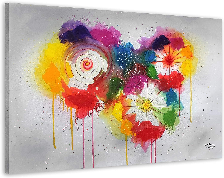 Exclusive-gallery I Monica Mirafiori I Gemälde  Abstract Abstract Abstract Flowers  I 120x80cm   XXL Leinwandbild handgemalt   Acrylgemälde auf Leinwand   Sehr großes Acrylbild auf Keilrahmen B07JCD4HQJ 7e0ba1