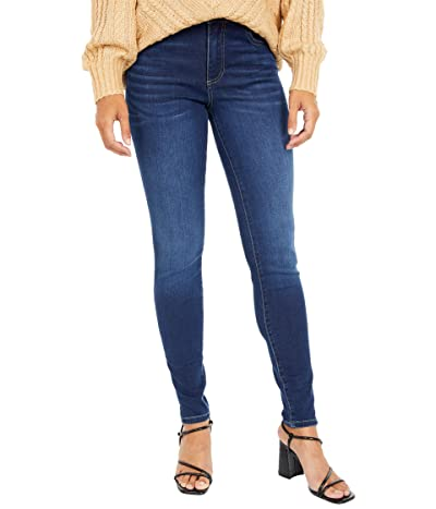 KUT from the Kloth Mia High-Rise Toothpick Skinny Wide Waistband in Daring (Daring Wash) Women