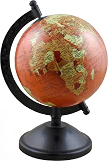 Decorative Desktop World Globe Map Political Earth with Stand - Perfect for Home Office Desk Decoration Gift - Stock Clearance Sale!!