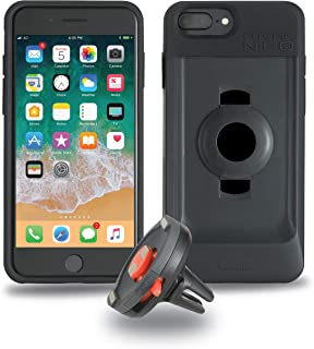 TIGRA SPORT FitClic Neo iPhone 6+/6s+/7+/8+ Self-Locking Magnetic Vehicle Mounting System with Phone Case and Air Vent Mount