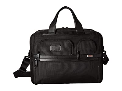 Tumi Alpha 3 T-Pass(r) Expandable Laptop Brief (Black) Luggage