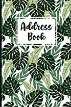 Address Book: Small Alphabetical address directory logbook with Tabs for Women with nice Floral cover Design Over 400+ Rec...