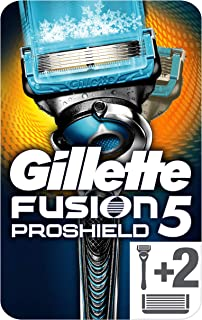 Gillette Fusion Proshield® Chill Shaver for Men with Flex Technology