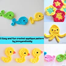 Best easy crochet applique free patterns Reviews