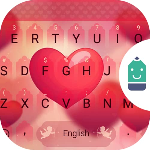 Sweet Heart Theme&Emoji Keyboard