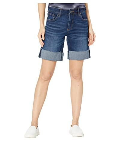 KUT from the Kloth Catherine Wide Row Bermuda Shorts in Salubrious w/ Euro Base Wash (Salubrious w/ Euro Base Wash) Women