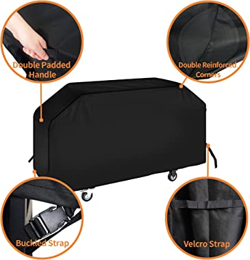 "iCOVER 36 inch Blackstone Griddle Cover, 600D Heavy Duty Waterproof Canvas Flat Top Gas Grill Cover for Blackstone 36"" Griddl"