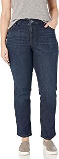 Lee Women`s Plus Size Relaxed Fit Straight Leg Jean