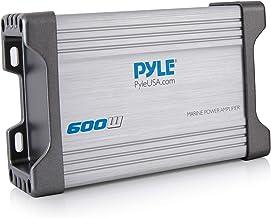 Pyle 4-Channel Marine Amplifier Receiver – Waterproof and Weatherproof Audio..