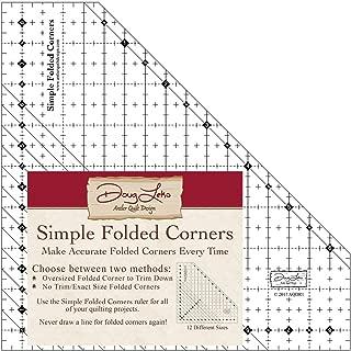 Antler Quilt Design AQDR1 Simple Folded Corners Ruler