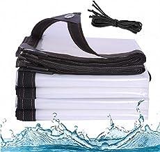 J&SKD Waterdicht transparant dekzeil met oogjes   3 x 3 m dekzeil dekzeil dekzeil Top Line dekzeil & spanriemen tuinzeil, ...