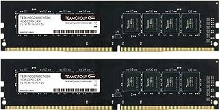 TEAM DDR4 PC4-19200 DDR4 2400MHzシリーズ Ecoパッケージ (16GBx2枚(32GBkit))