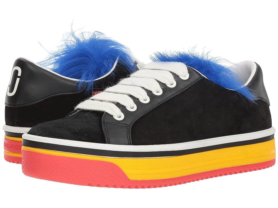 Marc Jacobs Love Empire Fur Sneaker (Black Multi) Women
