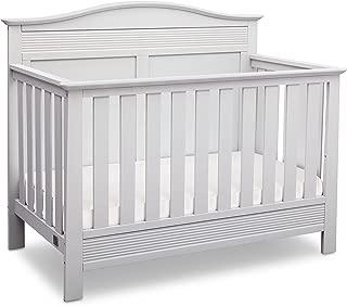 Serta Barrett 4-in-1 Convertible Baby Crib, Bianca White