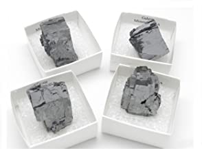 Fundamental Rockhound Products: One (1) Galena Crystal Mounted Mineral Specimen from Missouri