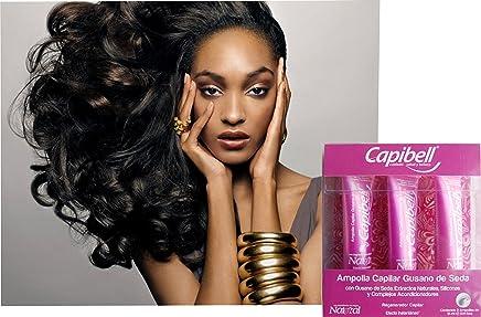 CAPIBELL-Gusano de seda/Ampolla protector del tallo del cabello (BOX 3PCS)