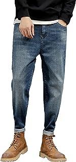 Sulliwayu デニム ジーンズ ジーパン gパン メンズ カジュアル スキニー ストレート スーパー ストレッチ カラーデニム ダメージ加工 ウォッシュブリーチ かっこいい ストリート 細身 美脚 定番 キレイめ パンツ ズボン