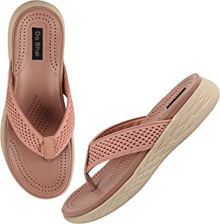 Do Bhai Ortho Care Orthopaedic Comfort Sole Flip-Flop and House Slipper for Women