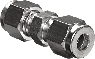 Parker A-Lok 12SC12-316 316 Stainless Steel Compression Tube Fitting, Union, 3/4