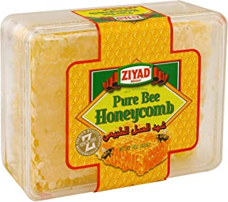 Ziyad Raw All-Natural Honeycomb, 100% Pure Unfiltered Honey Comb, No Additives, No Preservatives, 14 OZ