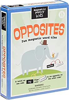 Magnetic Poetry Opposites Kit for Kids