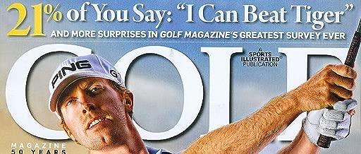 Golf November 2009 Hunter Mahan Clutch Shots Made Easy 7 Top New Irons High-Stakes Golf
