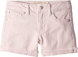 Jenna Stretch Cuffed Shorts in Pale Lilac (Little Kids)
