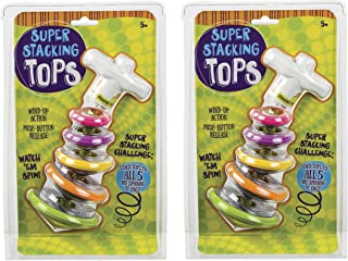 Toysmith (2 Pack) Bundle Savers! Super Stacking Tops