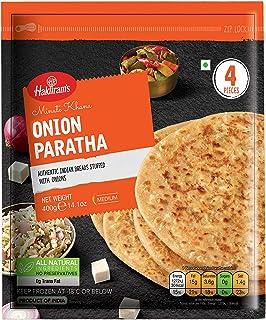 Haldirams Haldiram's Onion Paratha - Frozen, 400 g