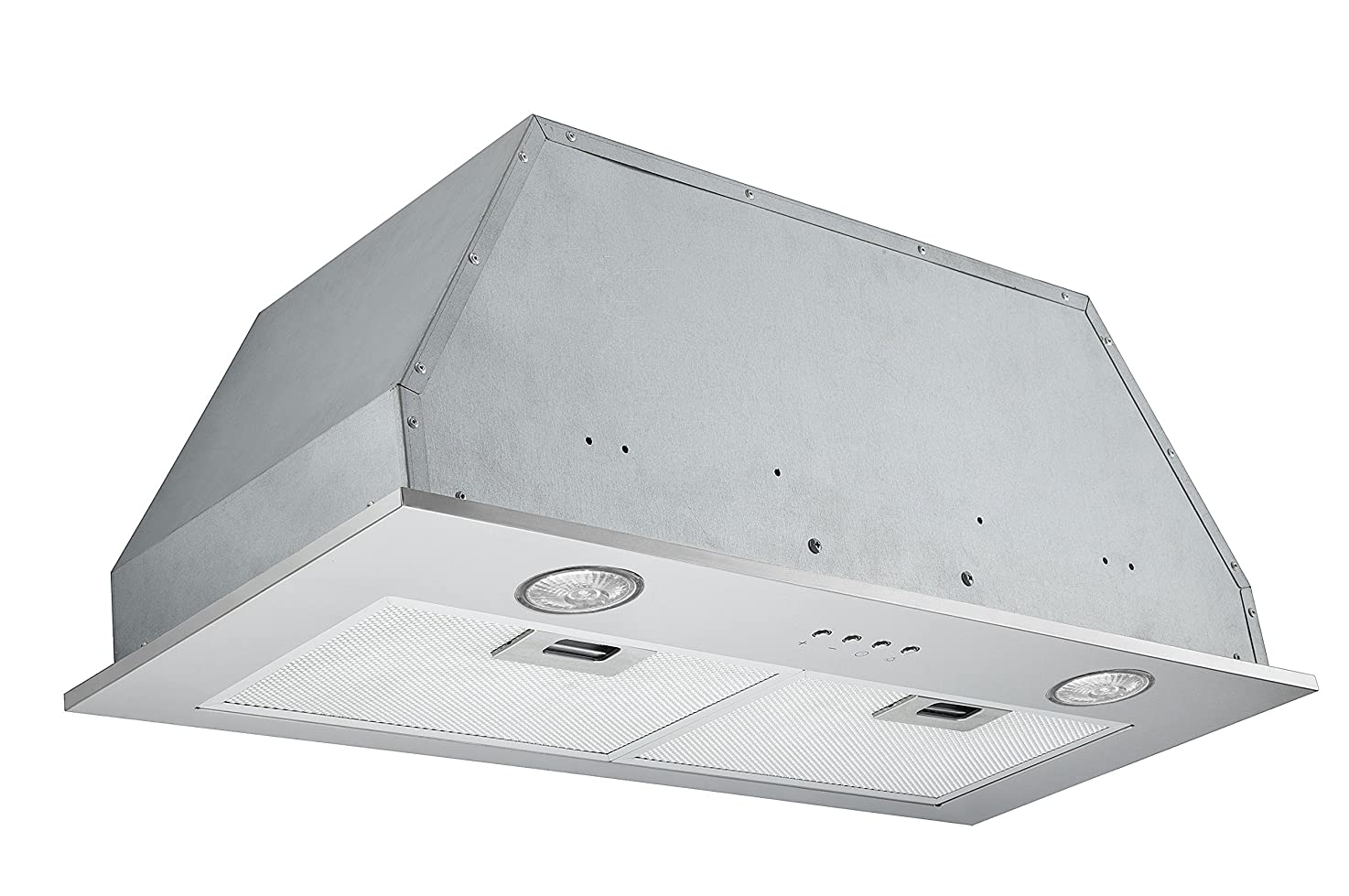 Ancona Stainless Steel 450 CFM Built-In Range Hood, 28-Inch leqhmimtczlhu8
