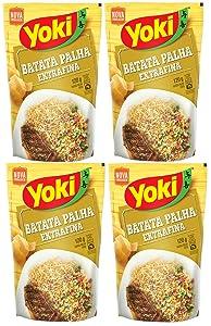 Yoki Batata Palha Extrafina 120g (PACK OF 4)