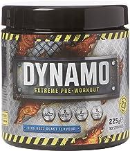 Protein Dynamix Dynamo Extreme Pre-Workout Formula Blue Razz Blast Flavour Powder 225 g Estimated Price : £ 14,85
