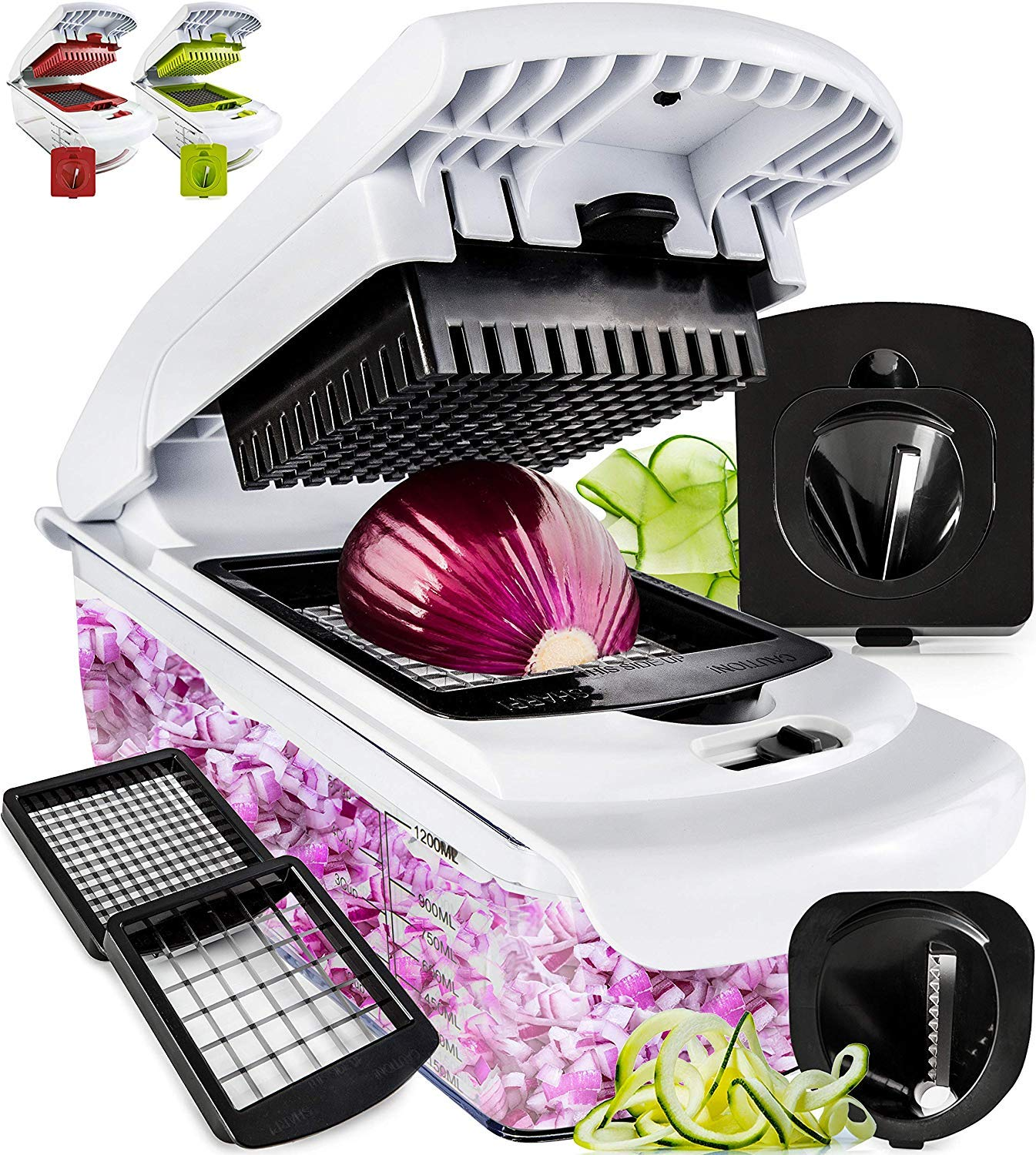 Vegetable Chopper Spiralizer Slicer Choppers