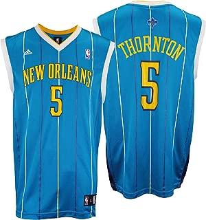 adidas NBA Men's New Orleans Hornets Marcus Thornton #5 Replica Basketball Jersey