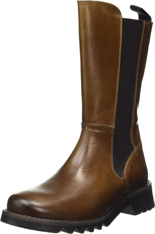 FLY New York Mall LONDON Women's RELM641FLY Camel Boot Finally resale start Chelsea 8