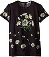 Dolce & Gabbana Kids - Margherite Jersey T-Shirt (Big Kids)