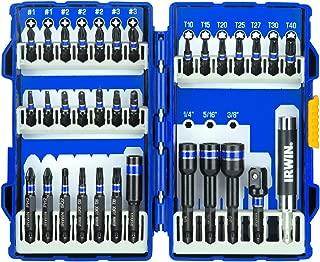 IRWIN Tools 33-Piece Impact Series Fastener Driver Bit Set (1840315)