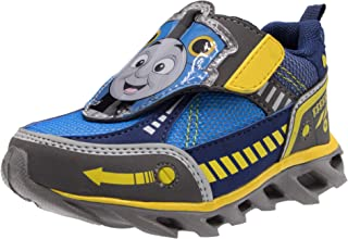 Thomas & Friends Easy Strap Blue Light Up Athletic Sneaker