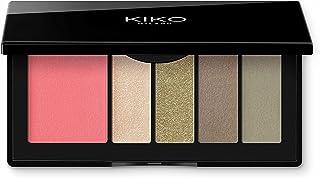 KIKO Milano Smart Eyes and Cheeks Palette - 02 Green Garden, 6 g